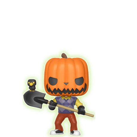 Фигурка Funko Pop Games: Hello Neighbor: Pumpkin Head GITD #266, Vinyl Figure