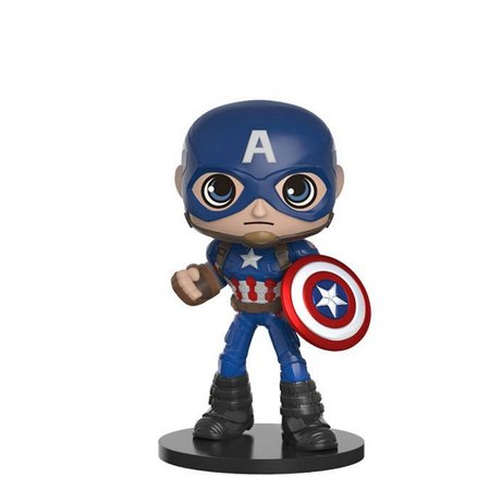 Фигурка Funko Wobbler Movies: Captain America: Civil War - Captain America, Vinyl Figure