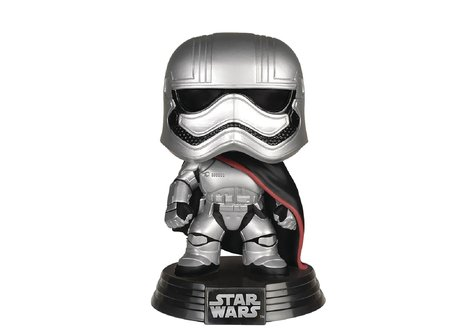 Фигурка Funko Pop Movies: Star Wars - Captain Phasma #65, Vinyl Figure