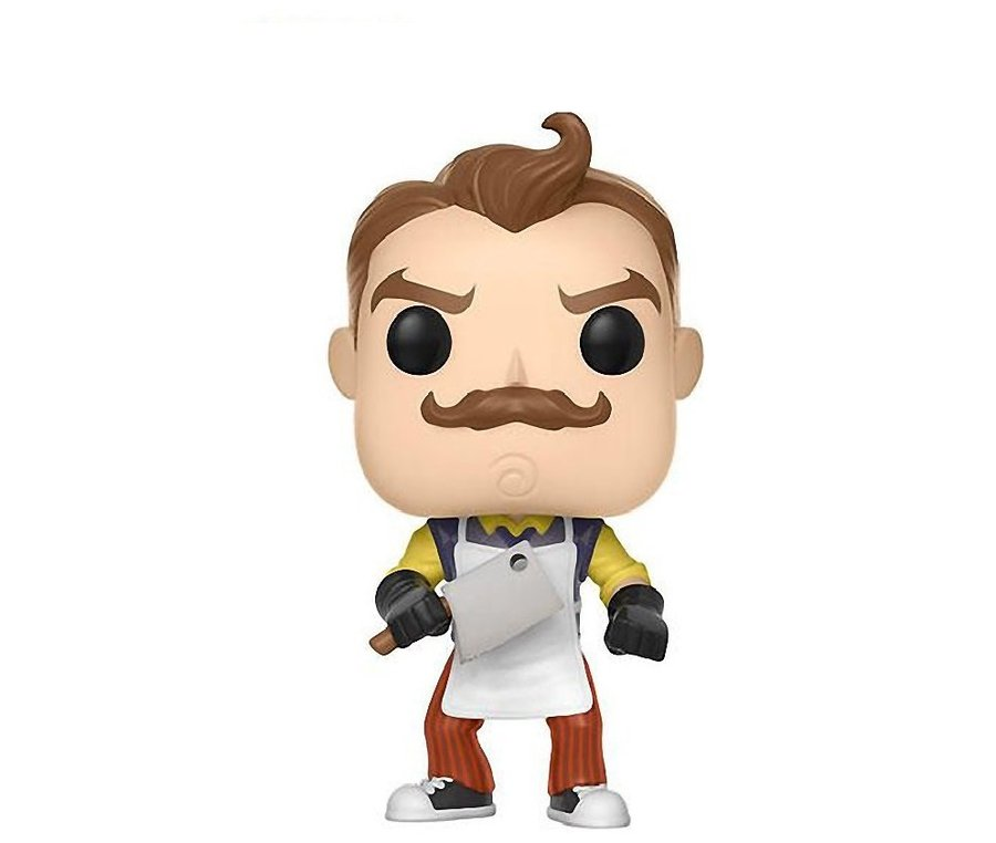 Фигурка Funko Pop Games: Hello Neighbor: Neighbor with Apron & Meat Cleaver #265, Vinyl Figure