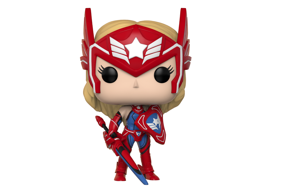 Фигурка Funko Pop Games: Marvel Future Fight –  Sharon Rogers #335, Vinyl Figure