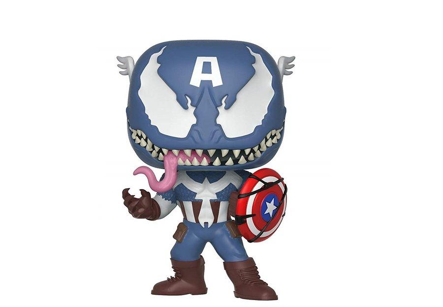 Фигурка Funko Pop Marvel : Marvel Venom: Captain America #364, Vinyl Figure
