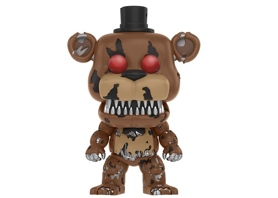 Фигурка Funko Pop Games: Five Nights At Freddy's – Nightmare Freddy #111, Vinyl Figure