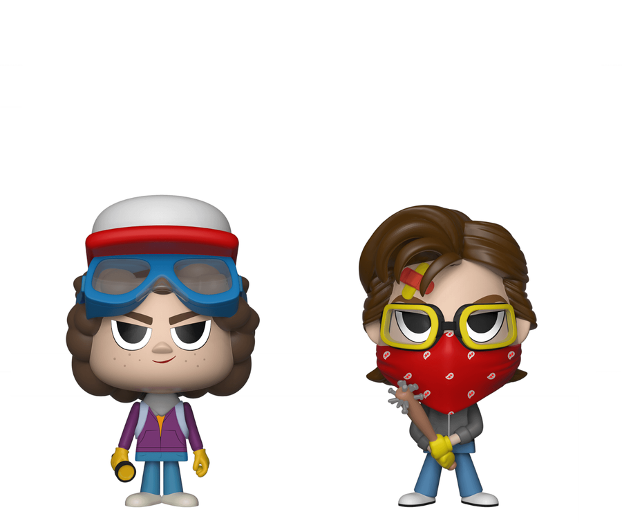 Фигурки Funko VYNL 2-Pack: Stranger Things - Steve & Dustin, Vinyl Figure