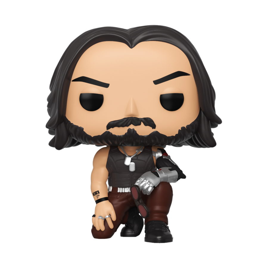 Фигурка Funko Pop Games: Cyberpunk 2077- Johnny Silverhand #590, Vinyl Figure