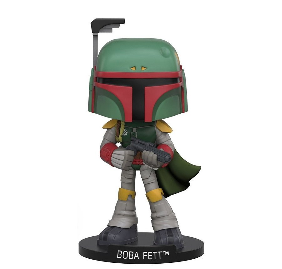 Фигурка Funko Wobbler Movies: Star Wars - Boba Fett, Vinyl Figure
