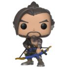 Фигурка Funko Pop Games: Overwatch – Hanzo #348, Vinyl Figure