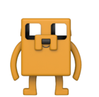 Фигурка Funko Pop Animation: Adventure Time X Minecraft - Jake #412, Vinyl Figure