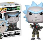 Фигурка Funko Pop Television: Rick & Morty - Weaponized Rick #172, Vinyl Figure