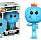 Фигурка Funko Pop Television: Rick & Morty - Mr. Meeseeks #174, Vinyl Figure