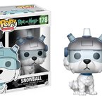 Фигурка Funko Pop Television: Rick & Morty - Snowball #178, Vinyl Figure