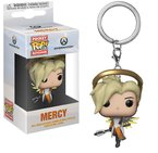 Ключодържател Funko Pocket Pop Games: Overwatch – Mercy, Figure Keychain