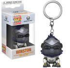 Ключодържател Funko Pocket Pop Games: Overwatch – Winston, Figure Keychain