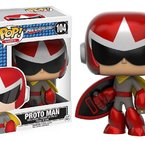 Фигурка Funko Pop Games: MegaMan – Proto Man #104, Vinyl Figure