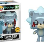 Фигурка Funko Pop Television: Rick & Morty - Teddy Rick, Chase #662, Vinyl Figure