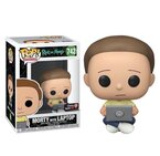 Фигурка Funko Pop Television: Rick & Morty - Morty w/Laptop #742, Exclusive, Vinyl Figure