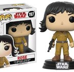 Фигурка Funko Pop Movies: Star Wars - Rose #197, Vinyl Figure