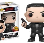Фигурка Funko Pop Movies: Daredevil - Punisher Chase #216, Vinyl Figure
