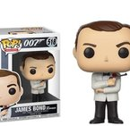 Фигурка Funko Pop Movies: James Bond - Sean Connery (White Tux) #518, Vinyl Figure
