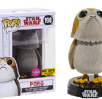 Фигурка Funko Pop Movies: Star Wars - Porg Flocked #198, Vinyl Figure